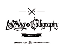 lettering vs calligraphy